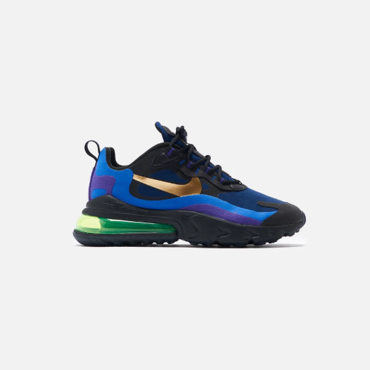 united states structural disablities cozy fresh Nike Air Max 270 React (Heavy Metal)